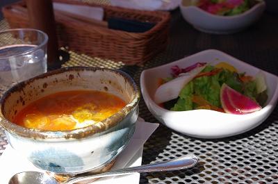 s-スープ&サラダ