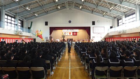 0582卒業式