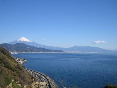 薩た峠からの富士