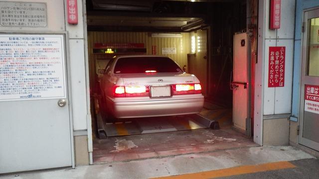 エレベーター駐車場