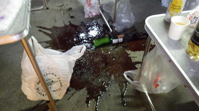 ワインが…
