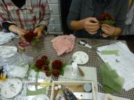 薔薇のコサージュWS1