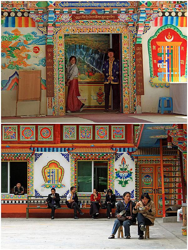 08九寨溝チベット族村
