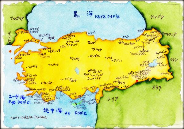 10トルコ地図メソポタミア