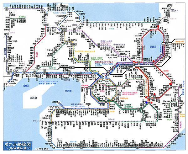 琵琶湖一周JR旅行