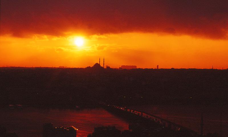 09旧市街に沈む夕陽06