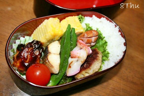 8木お弁当