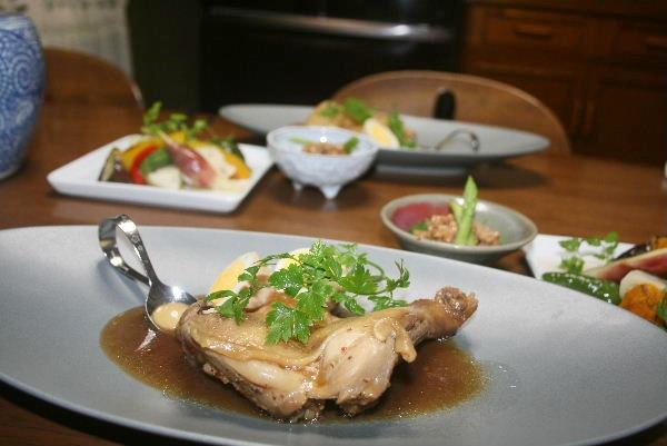 鶏肉のあっさり煮