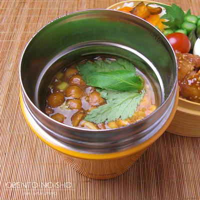 鶏の胡麻味噌焼き弁当02