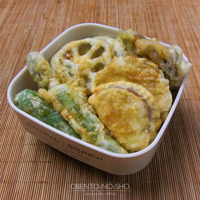 プチ野菜天丼