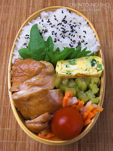 鶏のワサビ焼き弁当02