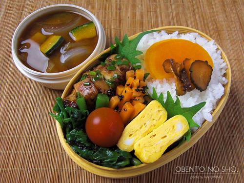 イカの醤油麹焼き弁当01