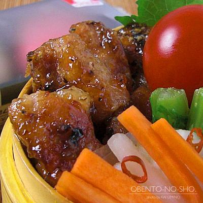 豚のレモン醤油麹焼き弁当02