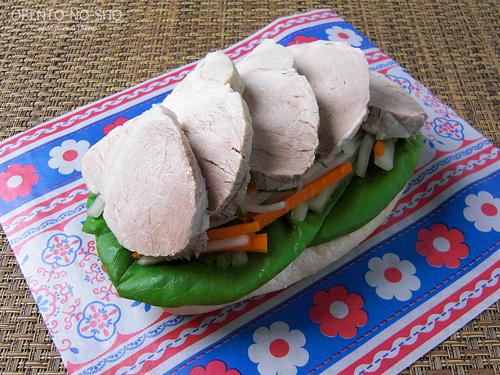 茹で豚サンド弁当03