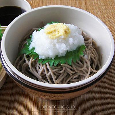 枝豆と海老のかき揚げおろし蕎麦弁当02