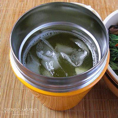 鮭と漬物の冷やし茶漬け弁当03