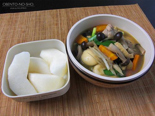 鶏すいとん弁当01