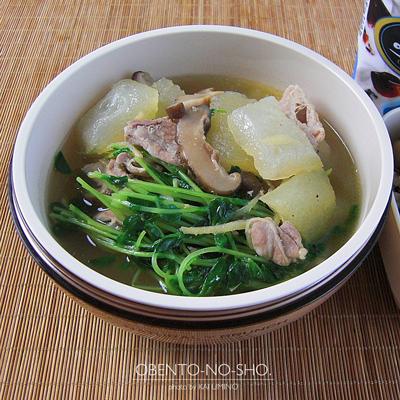 冬瓜と豚肉のスープ弁当02