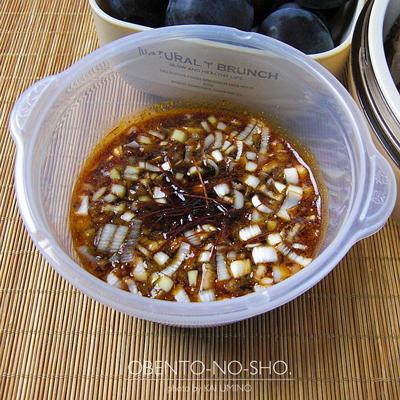 鶏チャーシューのつけ麺弁当03