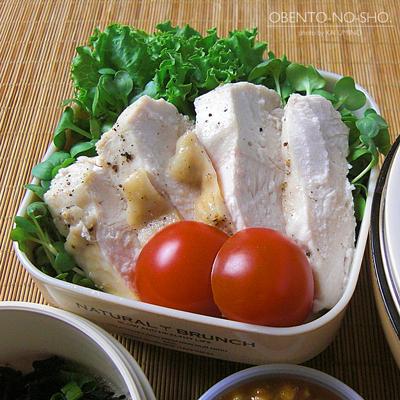 搾菜炒飯&棒棒鶏サラダ弁当03