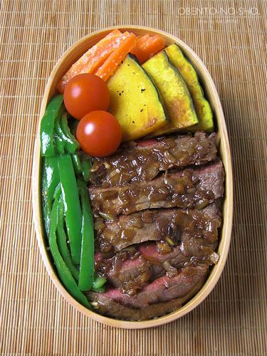 牛肉の香味焼き弁当05