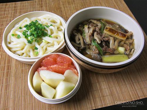 茸の肉うどん弁当01