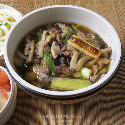 茸の肉うどん弁当02