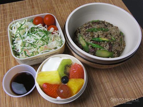 砂肝炒飯弁当01