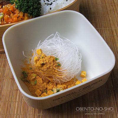 鶏レバーの生姜煮弁当03