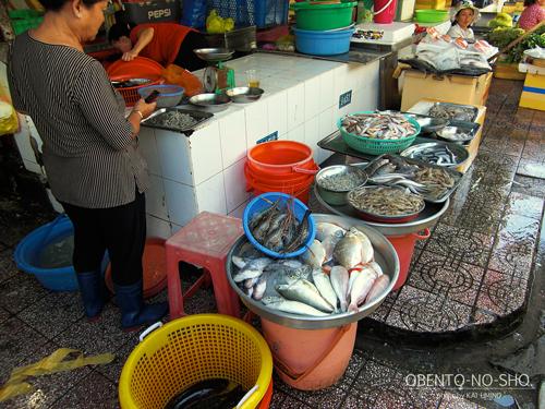 ベンタイン市場_鮮魚売り場