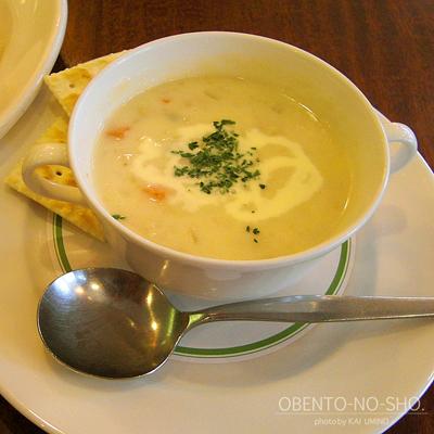 あさりのチャウダースープ