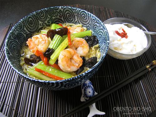 海老セロリ湯麺