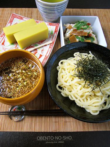 つけ麺&ネギサラダ02