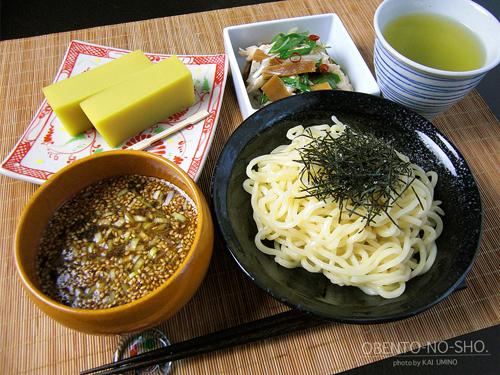 つけ麺&ネギサラダ