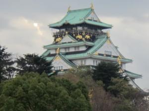 大阪城12月