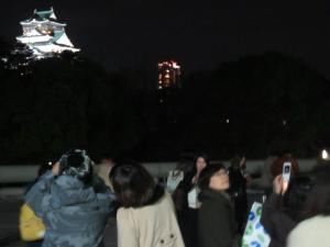 大阪城写メ