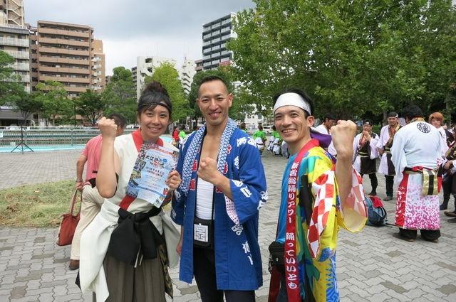 大江戸ソーラン20130908-1