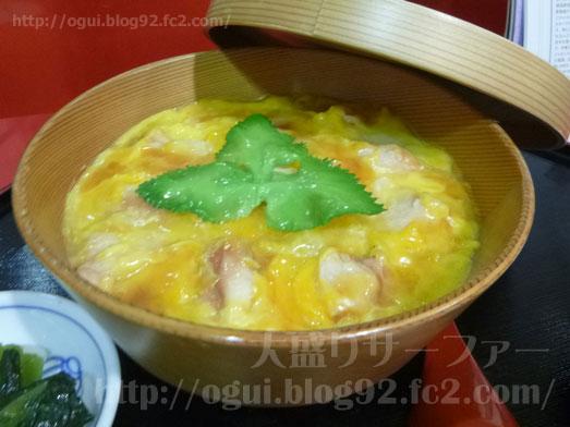 秋田名物比内地鶏や究極親子丼に稲庭うどん016