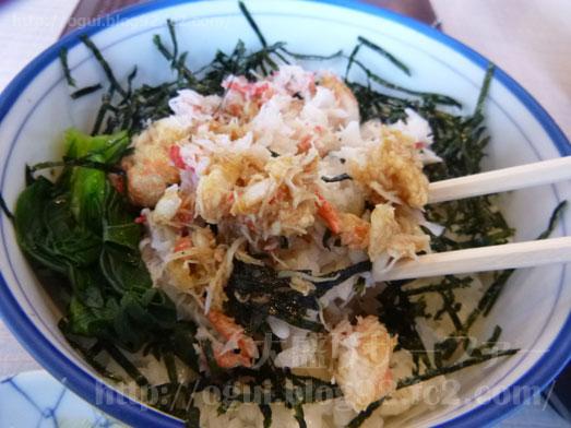 函館朝市食堂ニ番館の500円海鮮丼とイカ刺し026