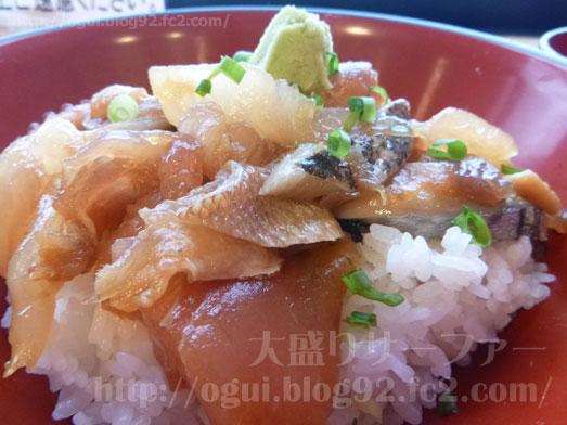 酒田海鮮どんやとびしまの朝めし定食とづけ丼042