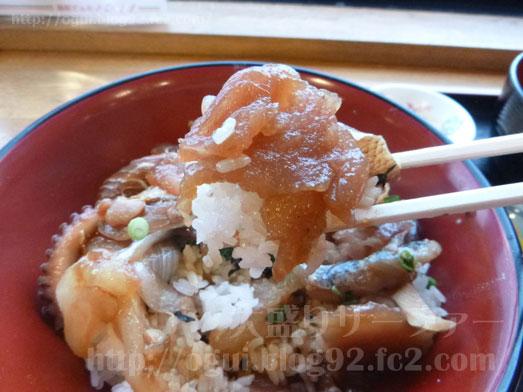 酒田海鮮どんやとびしまの朝めし定食とづけ丼047