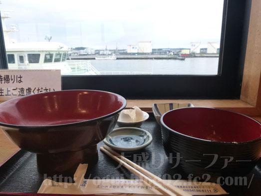 酒田海鮮どんやとびしまの朝めし定食とづけ丼052