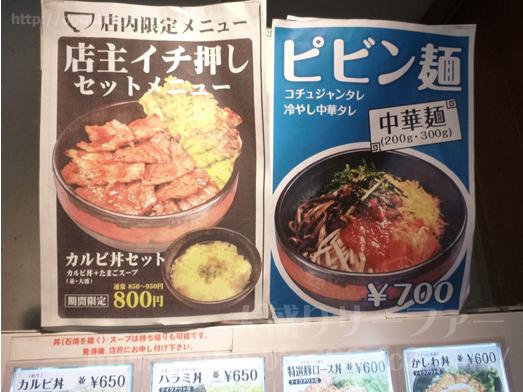 秋葉原焼肉丼たどんのBIG丼009