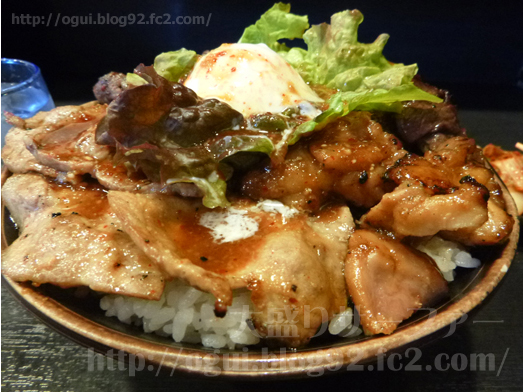 秋葉原焼肉丼たどんのBIG丼017