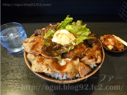 秋葉原焼肉丼たどんのBIG丼020