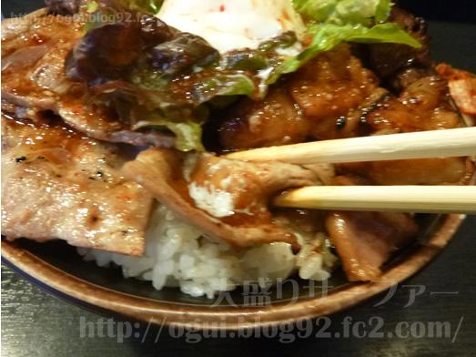 秋葉原焼肉丼たどんのBIG丼021