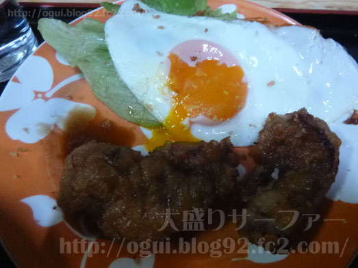函館たつみ食堂ジャンボとり定食やランチメニュー053
