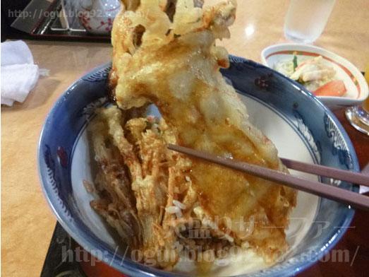 越後湯沢菊新どか盛り天丼魚沼きのこたっぷり036