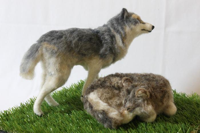 オオカミのつもり