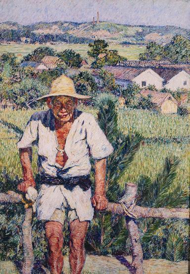 酒津の農夫